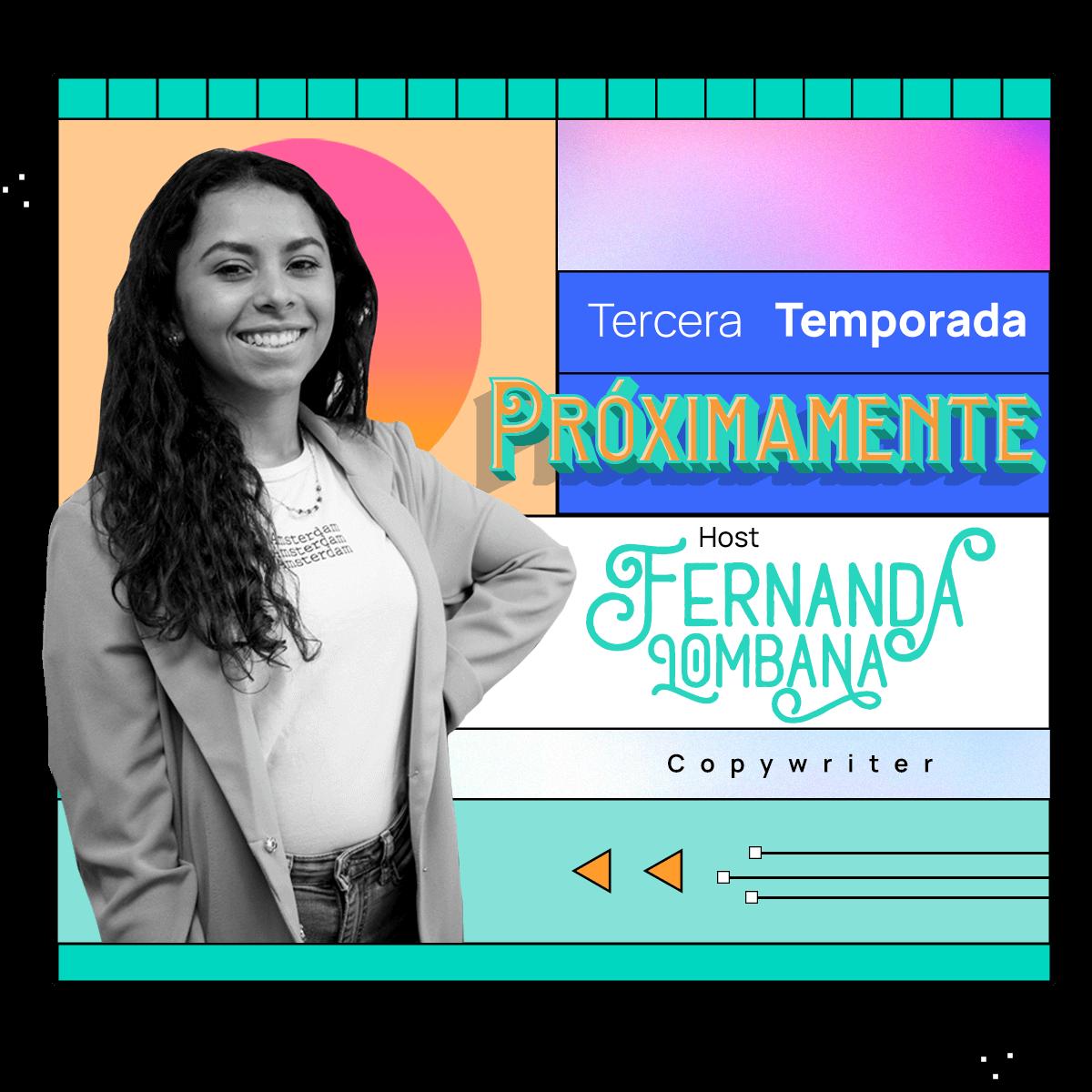 Fernanda Lomabana Host de estilista y empresario